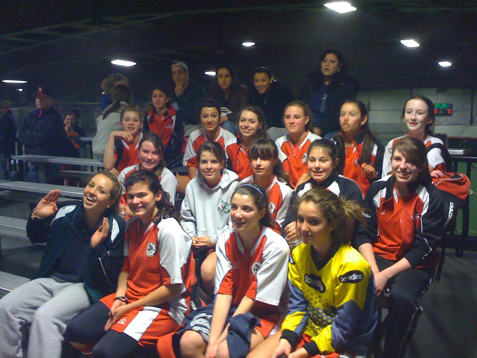 U14 Girls Champs Teamworks