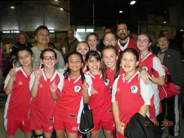 U12 Girls B - MLK 2009