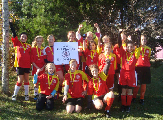 2011 U12 Girls Champs Rec