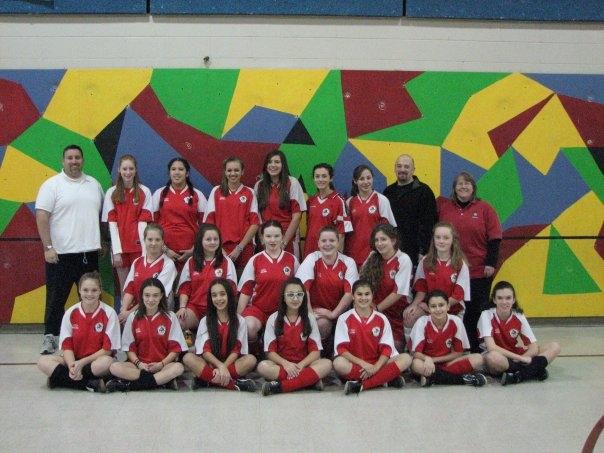 U14 Girls Champs Teamworks 2009 Session1