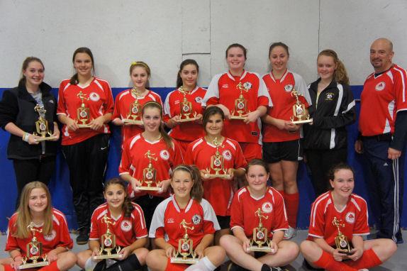 2011 u16 girls