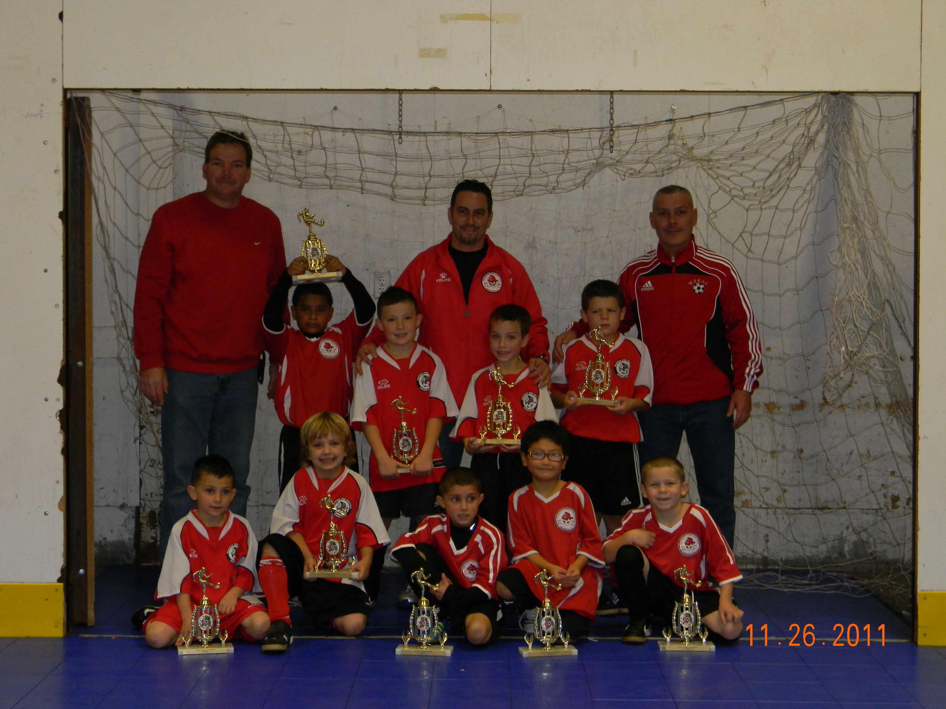 2011 U8 boys