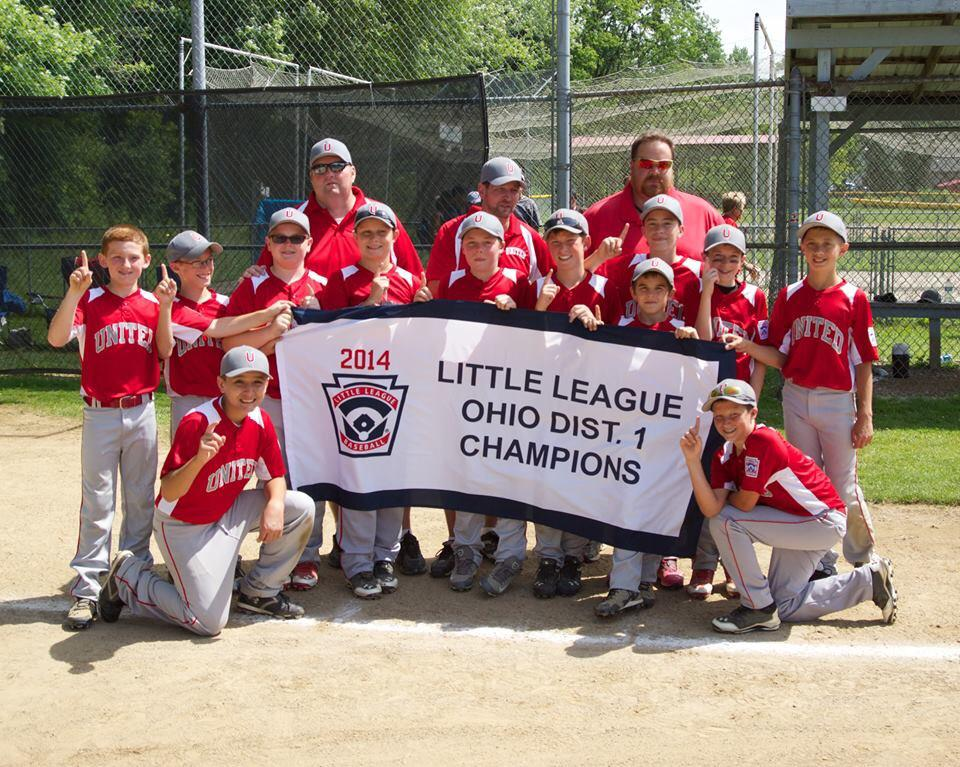 2014 D-1 MAJ BB CHAMPS UNITED LL