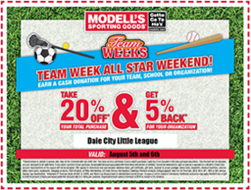 Modells Fall Coupons