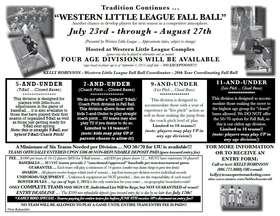 Western Fall Ball
