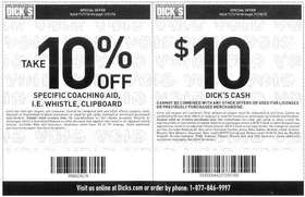 2015_Dicks 10-10 Coupon