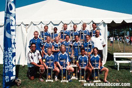 CUSA U13 Champions