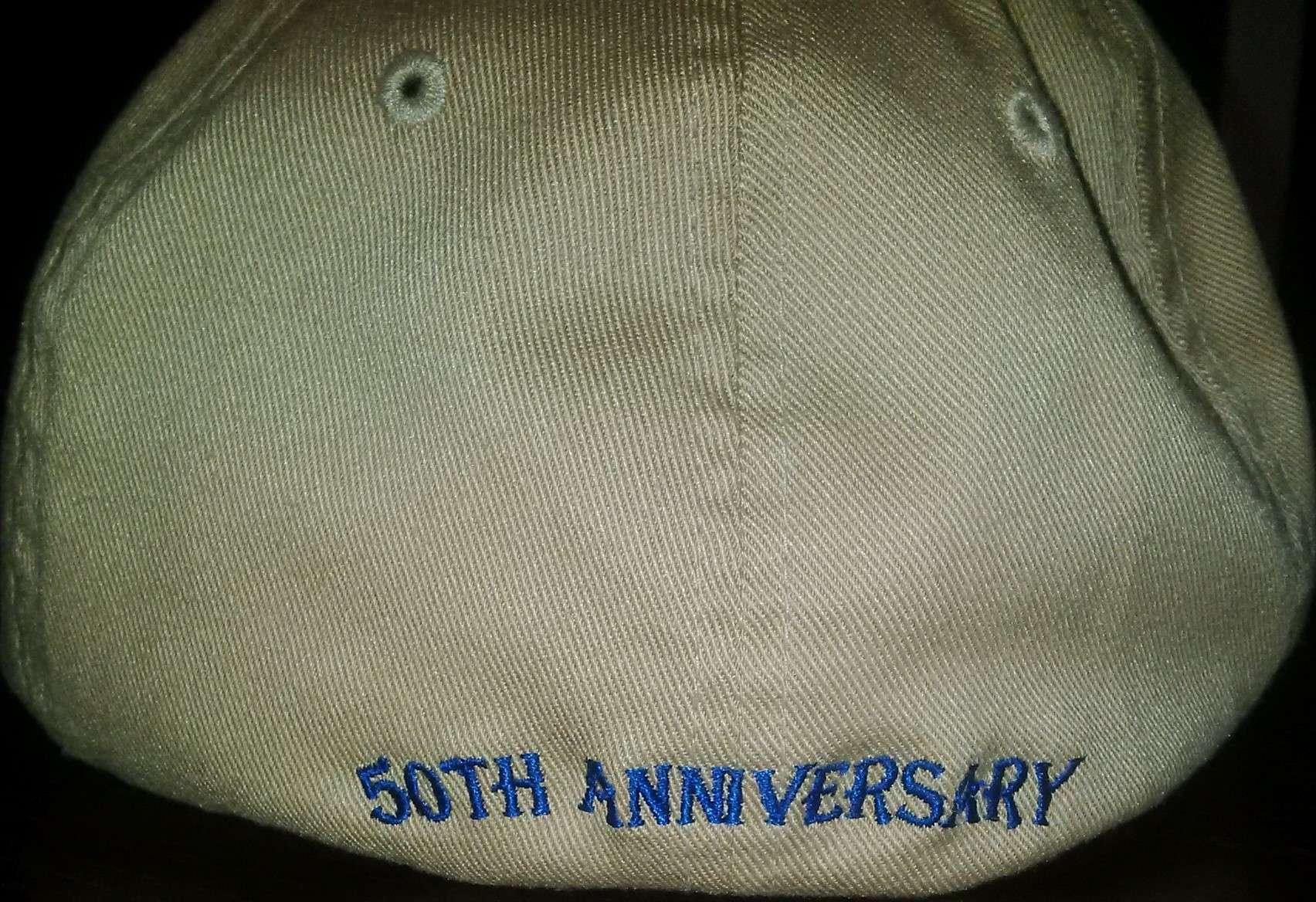 50th Hat Rear