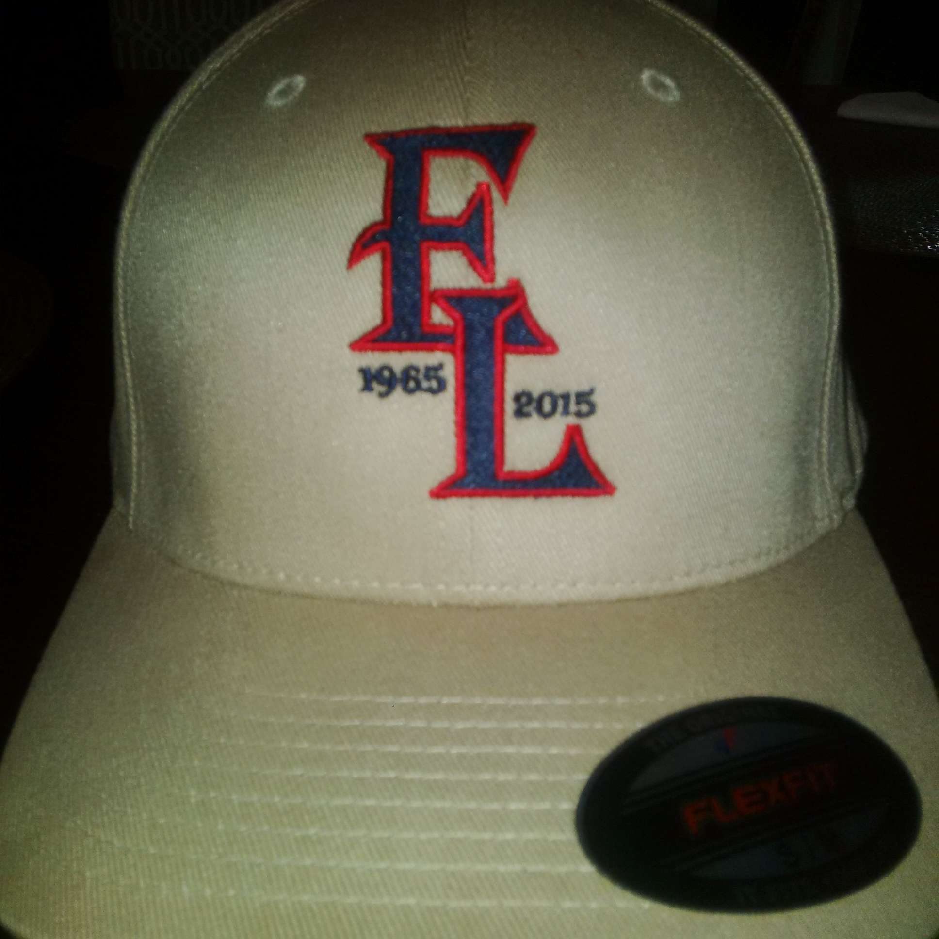 50th Hat Front