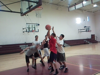Hamilton open gym hoop session