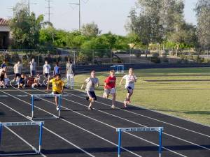 Track meet INSET