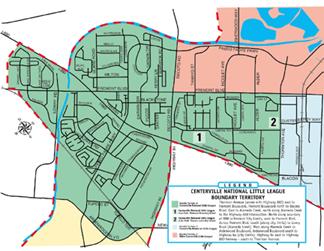 CNLL Territory Map