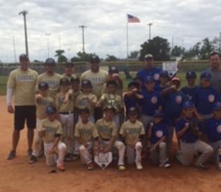 9U WP Cobras vs Miami Cubs