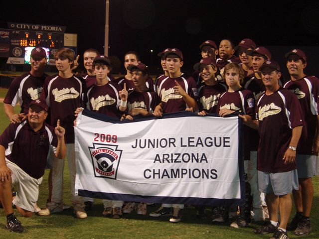 2009 MVLL 13-14s State Champs