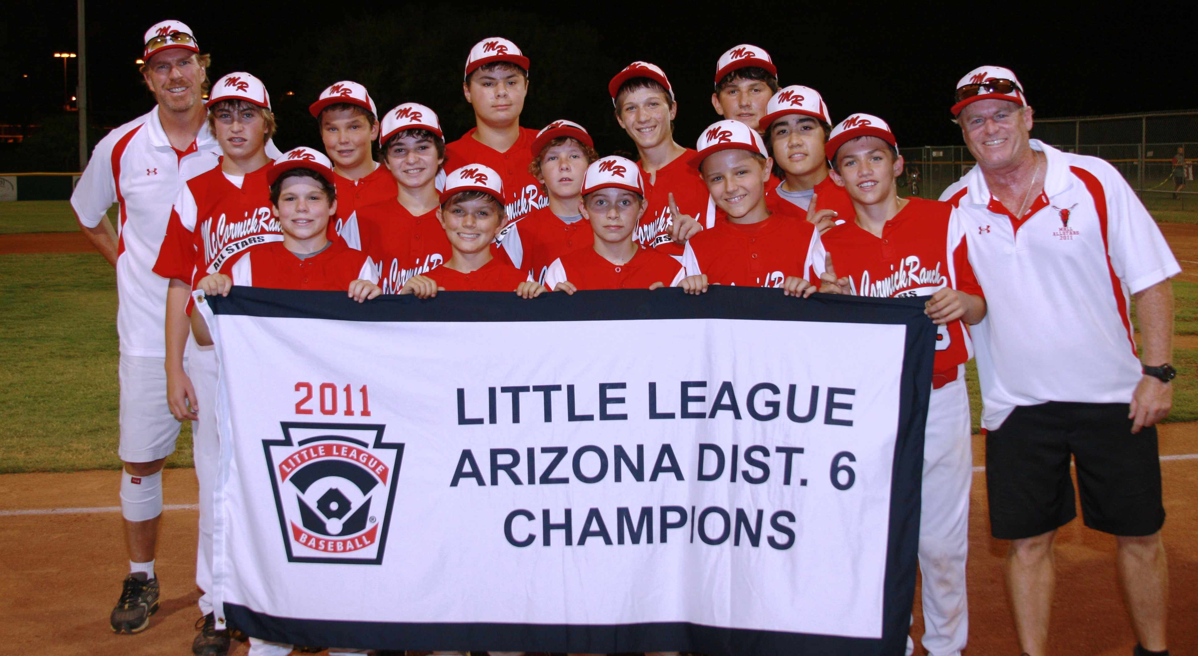 MRLL 2011 AZ6 Little League baseball champs.jpg