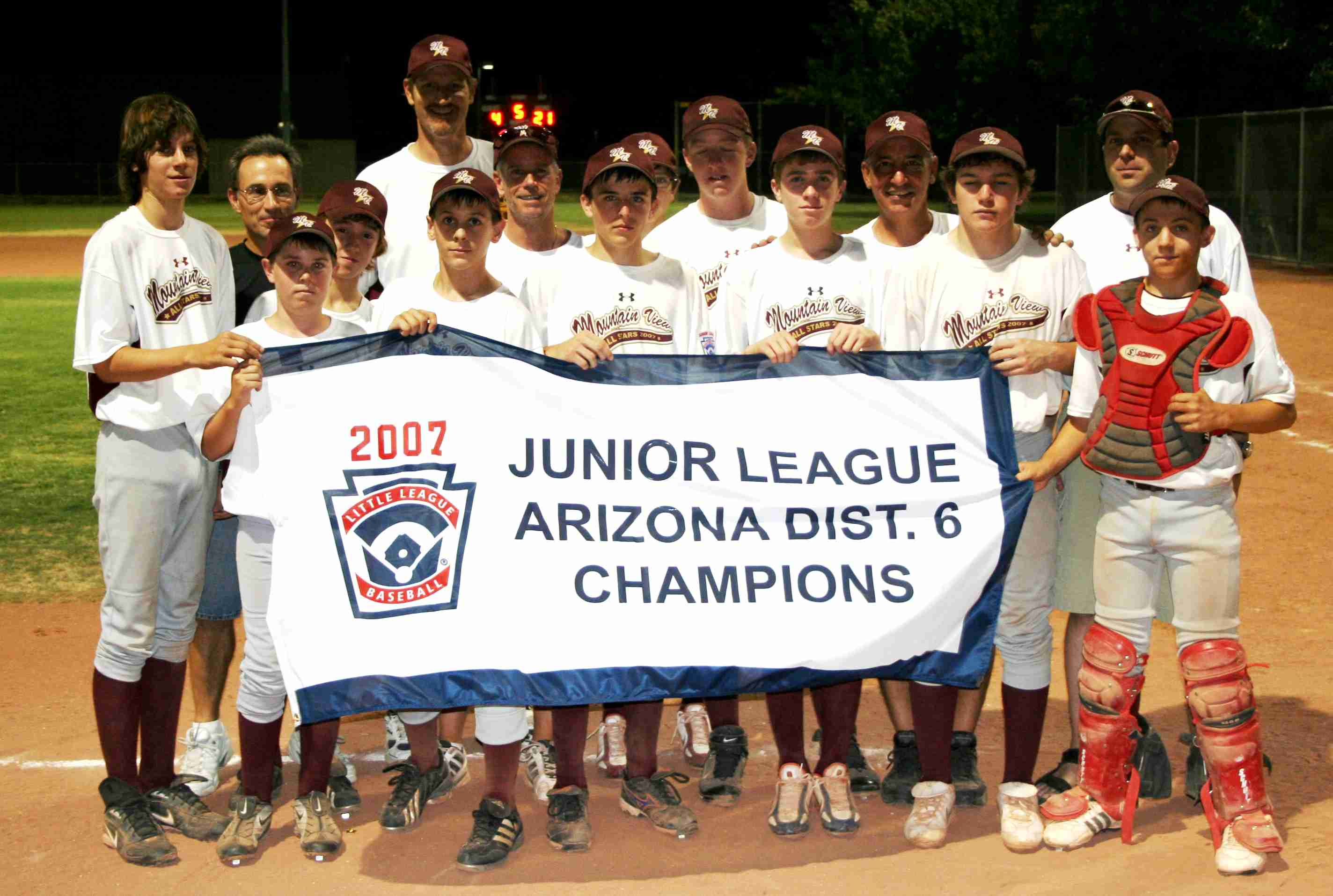 2007 MVLL Junior champs