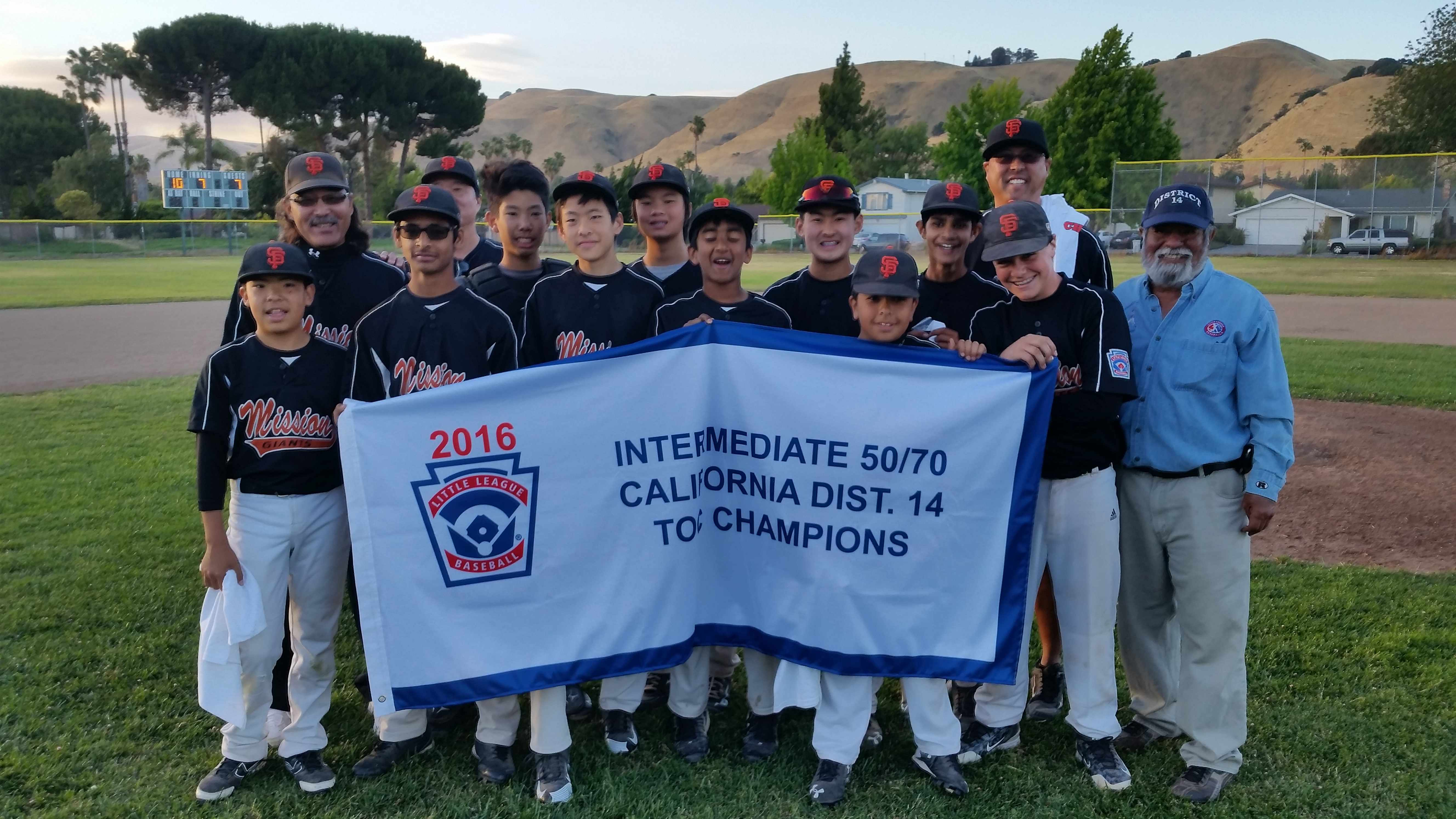 2016 District 14 Intermediate Chmapions