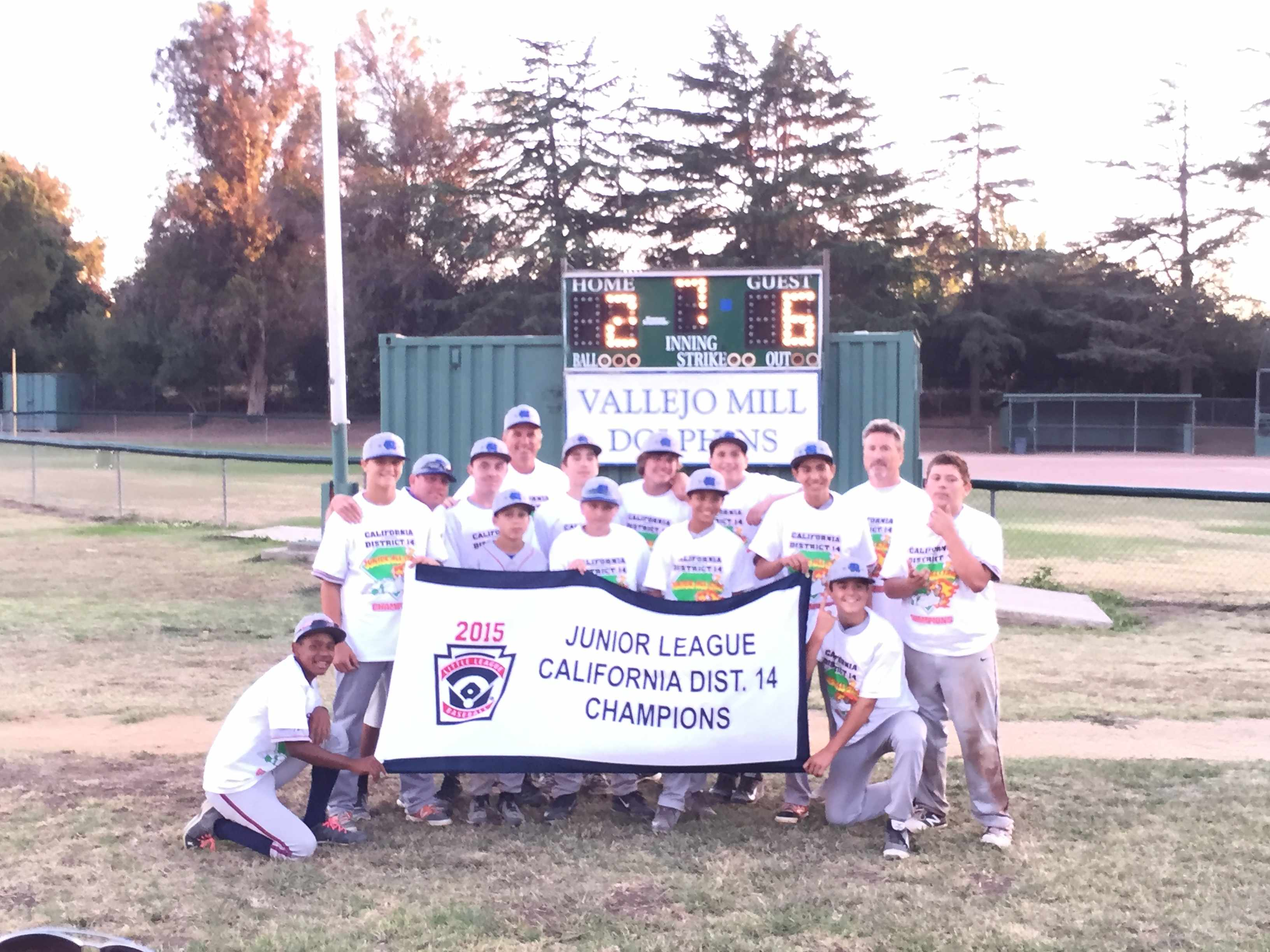 District 14 Junior All Star Champions