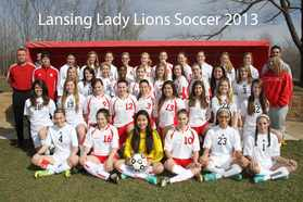 Lansing Lady Lions Soccer 2013 Full Team.jpg