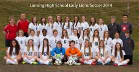 Lansing High School Lady Lions Soccer2014.jpg