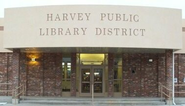Harvey Library Logo