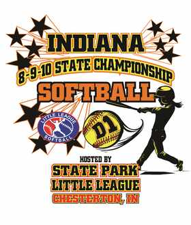 8-9-10 Softball Logo