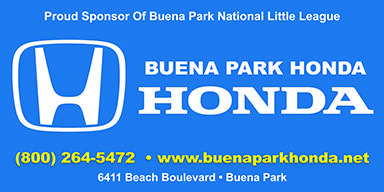 buena park national little league sponsors. Black Bedroom Furniture Sets. Home Design Ideas