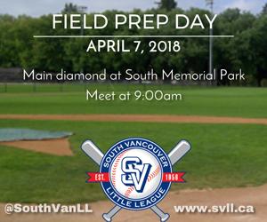 Field Prep Day April 7 2018