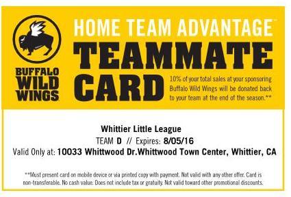 BWW Card