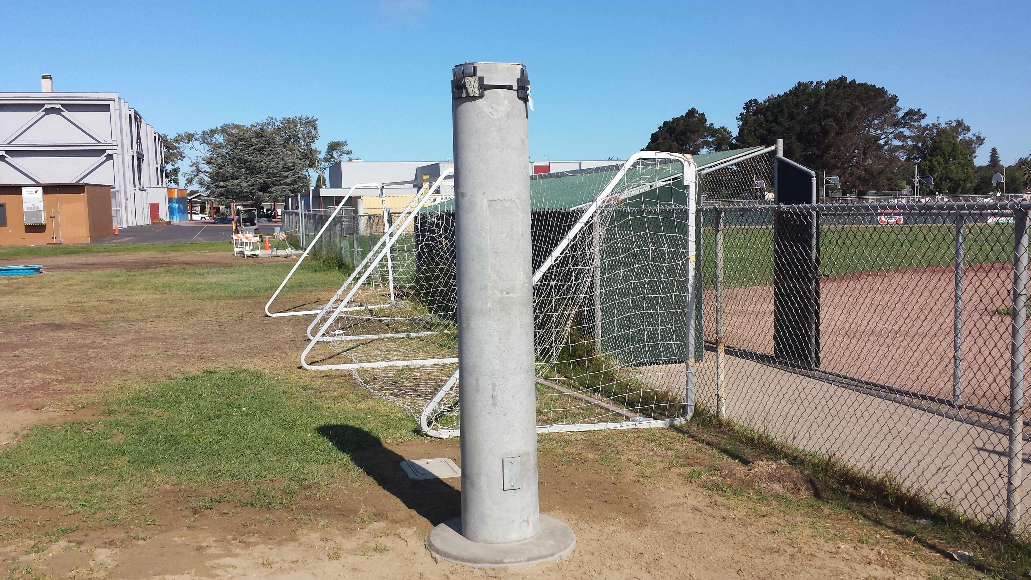 Left Infield Base