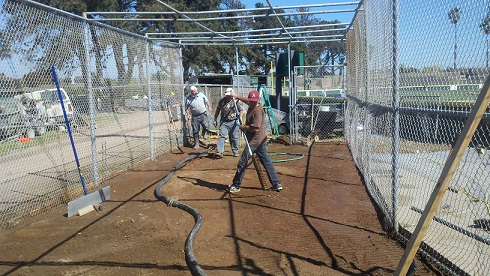 Old Batting Cage