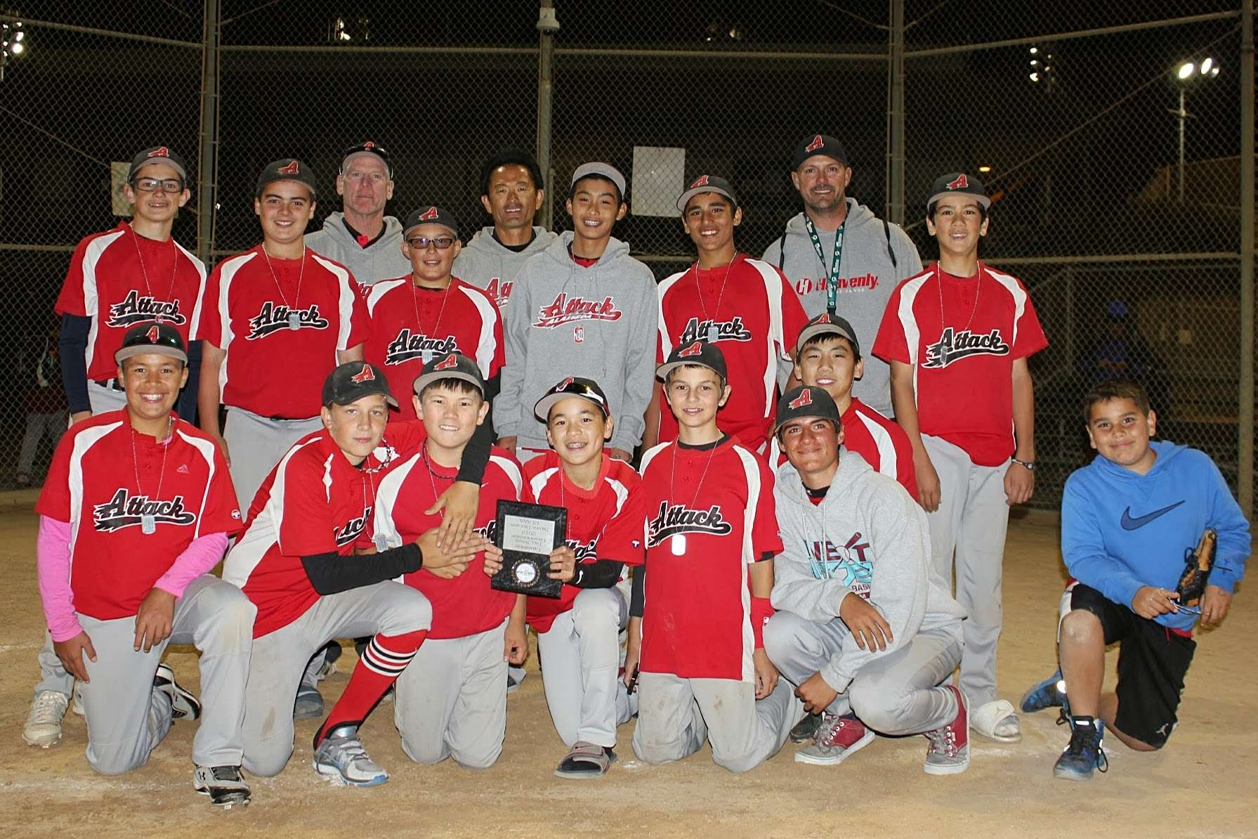 Attack 13U Silver Winners