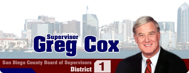 County Supervisor Greg Cox