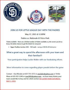 2015 Padres Day
