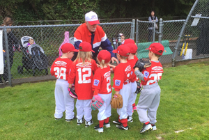 CARDINALS T-BALL PLAYERS