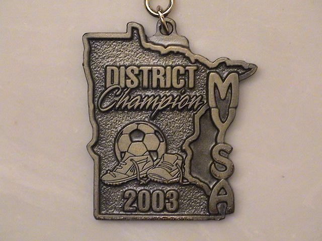 MYSA Champs Medal