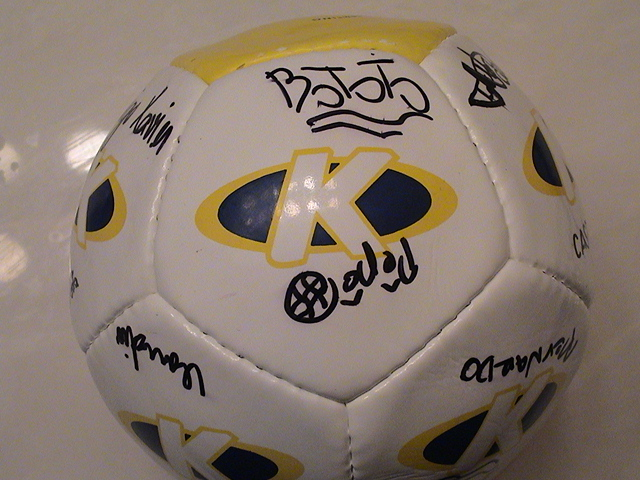 Brazilian Team Soccer Ball 3