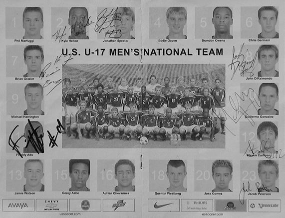 USA Cup Autographs