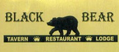Black Bear Restaurant gold
