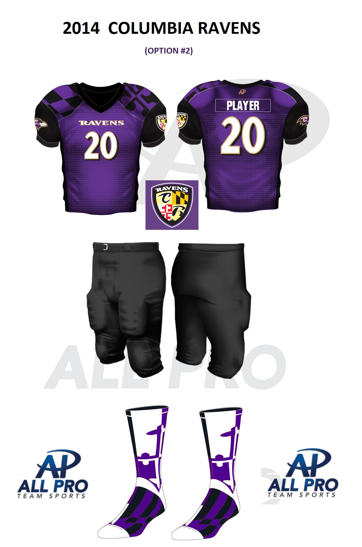 2014 Raven Game Jersey
