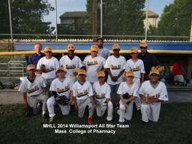 MHLL 2014 Williamsport All Star Team
