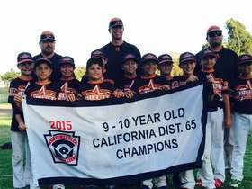 Orcutt American 2015 9&10 Champions