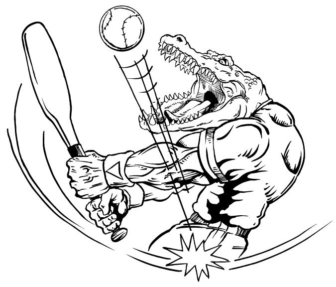 Gator batting