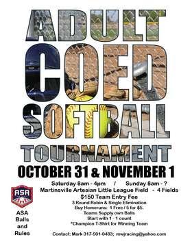 Softball Tournament Co-ed