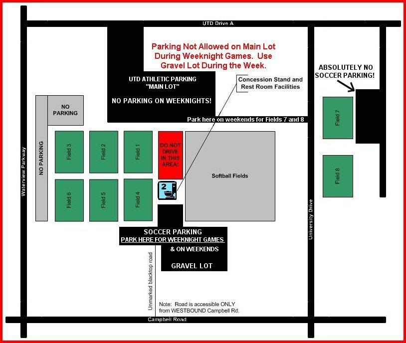 UTD Field Map