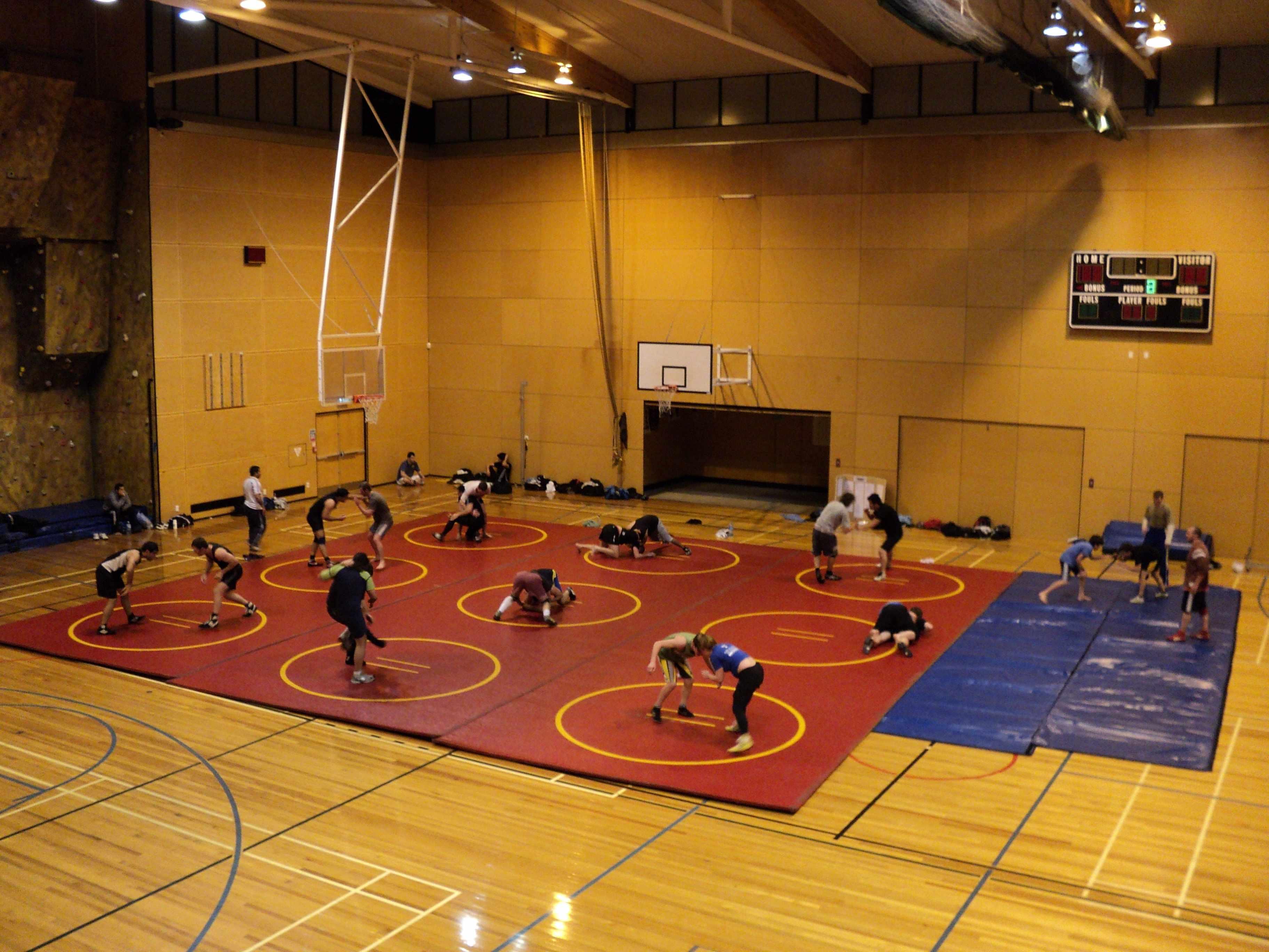 Dilworth Grizzlies Wrestling Club - New Zealand: Training venue