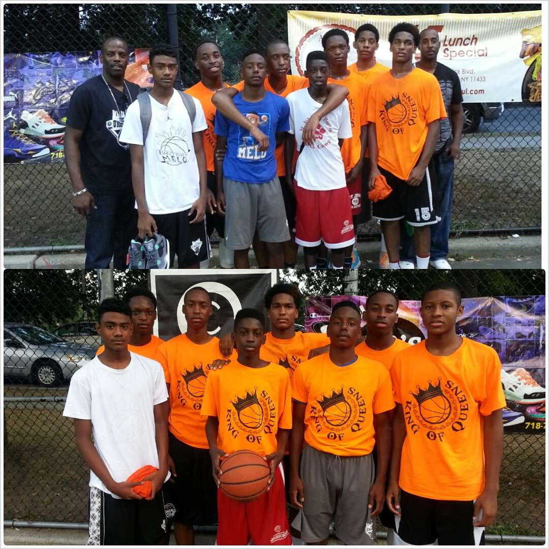 16U KING OF QUEENS CHAMPS
