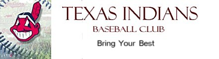 Texas Indians Baseball