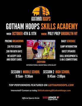 GOTHAM HOOPS WORKOUT OCT 2015