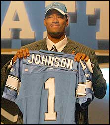 Calvin Johnson Draft Day